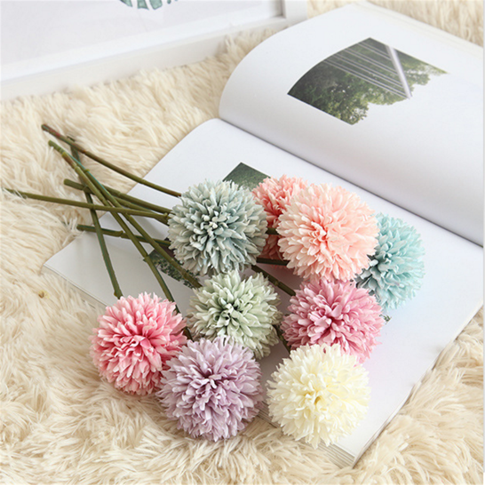 china factory direct cheap popular artificial dandelion flower