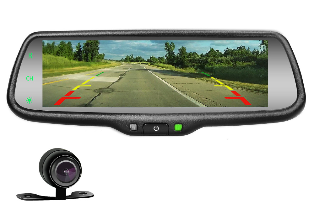 7 3'' Mirrorlink Car Rear View Mirror Full Screen Reverse Camera Rear  Mirror With Airplay Android Wireless Miracast - Buy Car Mode With  Mirrorlink