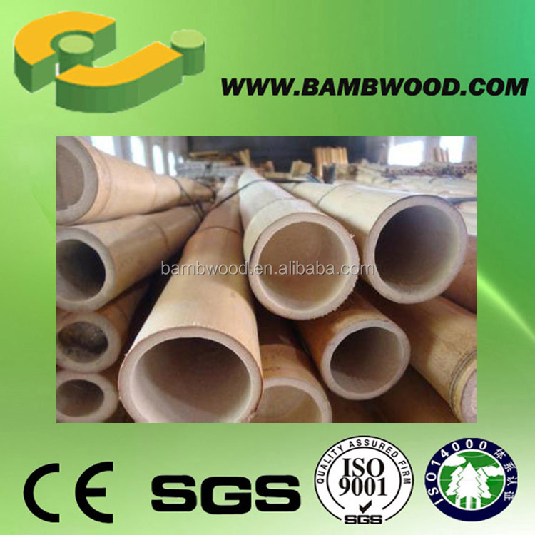 Decorate Recyclable Saw Bamboo Pole For Trees Supporting Cost
