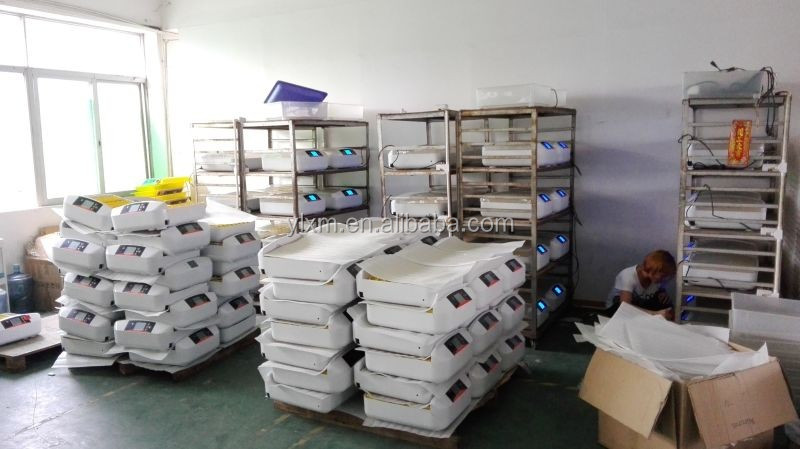 Chicken Shed Equipment Plastic Automatic Egg Incubator Hatching with 56 eggs