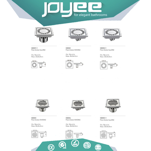 JOYEE trench 60x60 ductile iron manhole cover and flexible channel drain grating cover