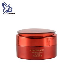 Moisturizing and Anti-Wrinkles Pomegranate Face Cream Day Use Multi-effect for Whitening Brightening Face Skin Female Cream