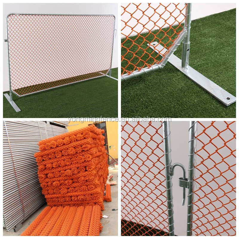 Metal portable crowd control barriers traffic safety