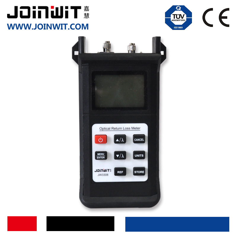 JW3308 Handheld Return Loss Tester Measure Return Loss , RL.IL.OPM.OLS Adjust the Quality of the Optic Fiber End-face