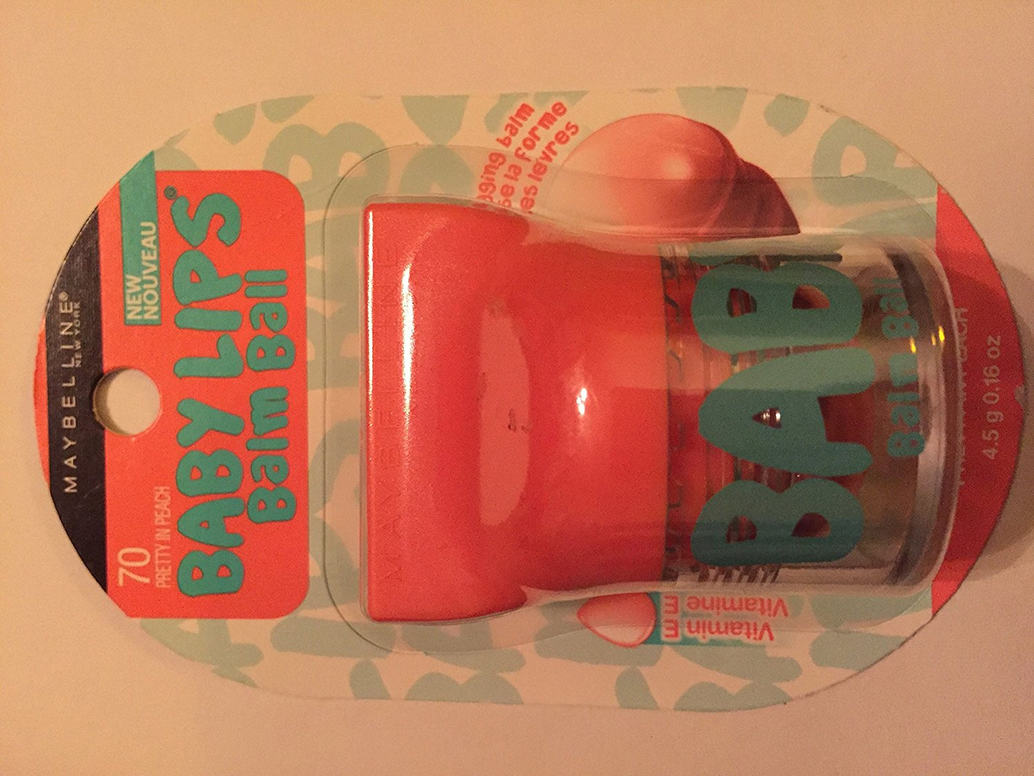 Buy Maybelline Baby Lips Balm Ball Pout In Pink And Pink