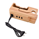 Multi Device Charging Station with 3 USB Ports Wooden Bamboo Charging Station For iPhone /Watch/Samsung