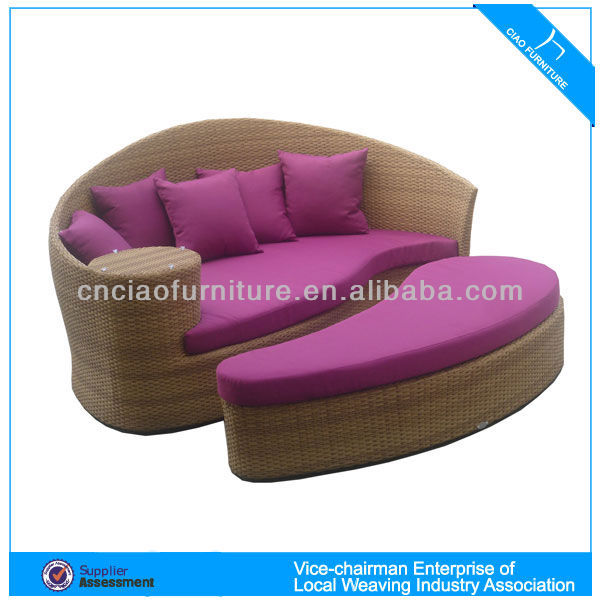 Rattan Swing Bed, Rattan Swing Bed Suppliers and Manufacturers at ...