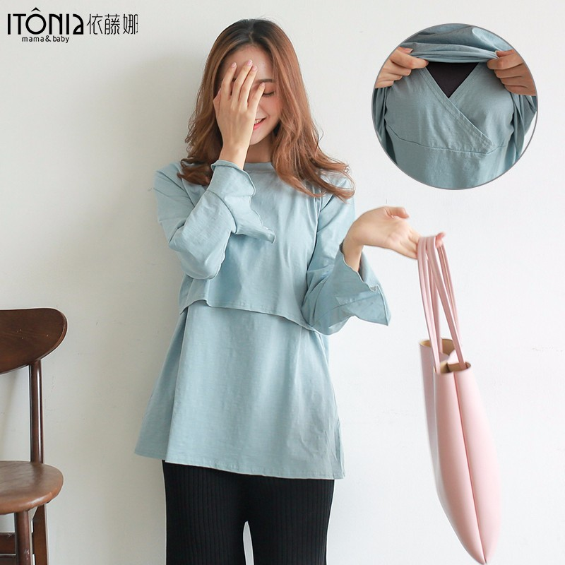 f9f434651772a Wholesale high quality pregnant women delivery photos maternity clothes  online cheap