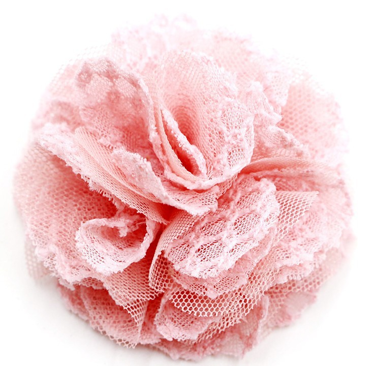 free shipping Net cloth lace chiffon flowers ,shabby Mesh lace  rose flower ,Hair accessories flowers,Baby girl hair flowers