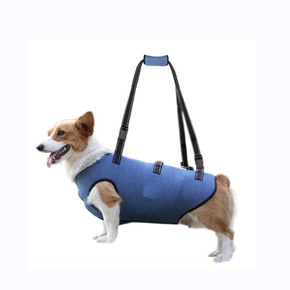 2020 आउटडोर पालतू सामान कुत्ते लिफ्ट समर्थन मदद करता पुराने या घायल पालतू जानवर खड़े हो जाओ कुत्ते लिफ्ट दोहन