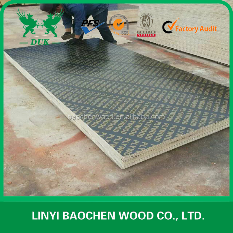 China formwork plywood, black/brown film faced plywood, concrete form plywood for sale