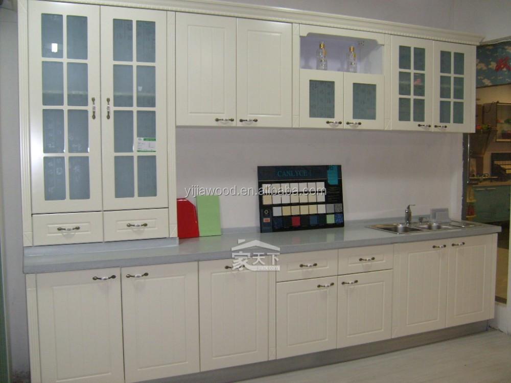 ... melaminizzato pannello truciolare ante in vetro mobili da cucina
