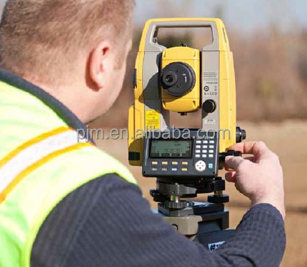 optical total stations topcon es-105 series estacion total surveying equipments