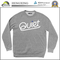 Custom high quality fleece sweat shirt