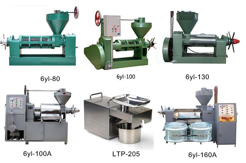 6YL-68 screw 형 핫 나 냉 프레스 동백 oil press machine