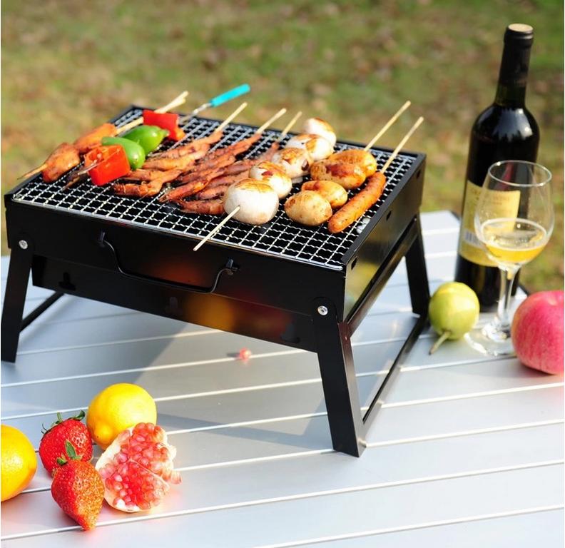 Mini Folding Barbecue Grill Charcoal