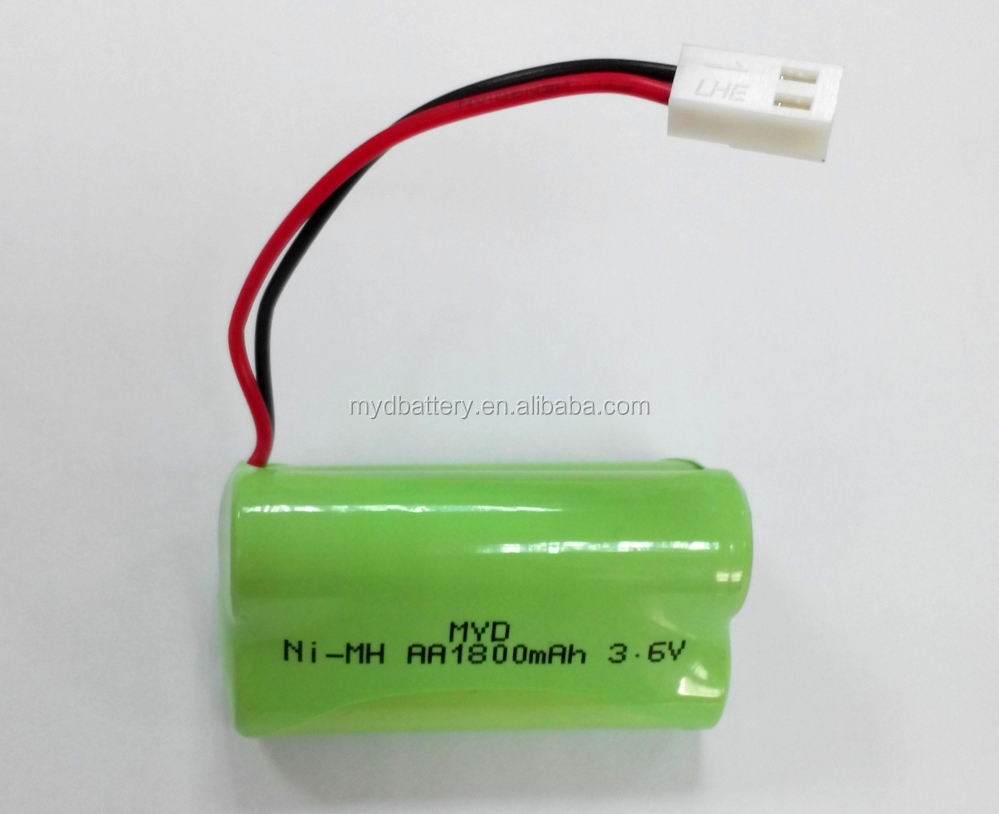 Triangle Shape 3 6v 1800mah Nimh Battery Pack With High