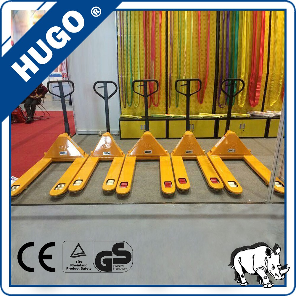 high quality hand pallet truck trolley warehouse pallet truck with comfortable handle