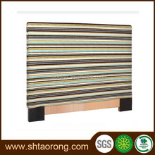 High-quality fabric upholstered headboard