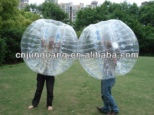 High quality inflatable PVC soccer bubble