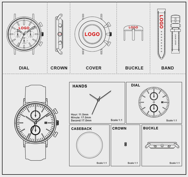 skmei digital custom design watch