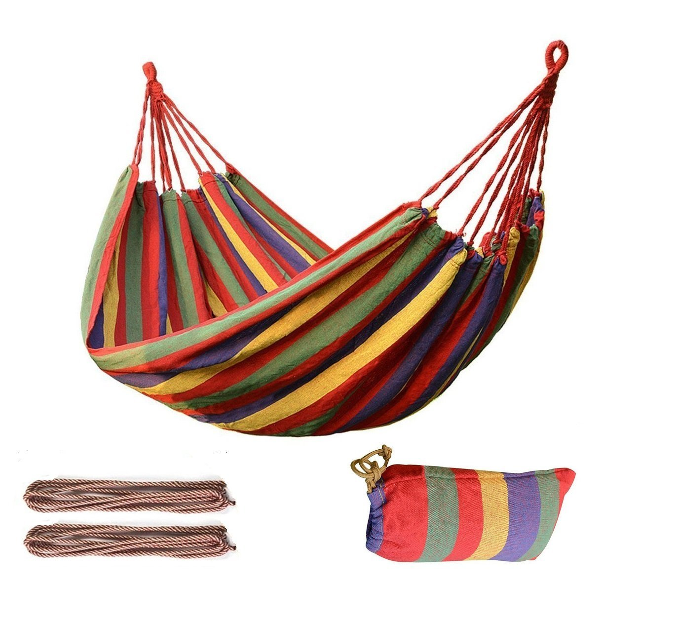 Outdoor Bed Multifunctional Hammock Cotton Fabric Travel