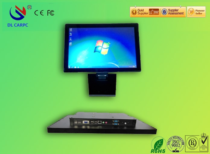 hot sale 15 inch 10 points capacitive touch all in one bare pc in China