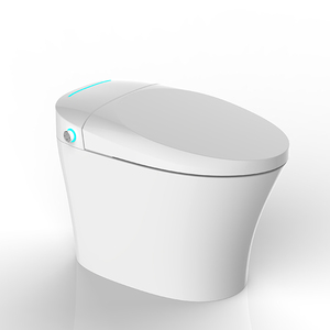 Siphon jet flush intelligent remote control bidet seat smart toilet