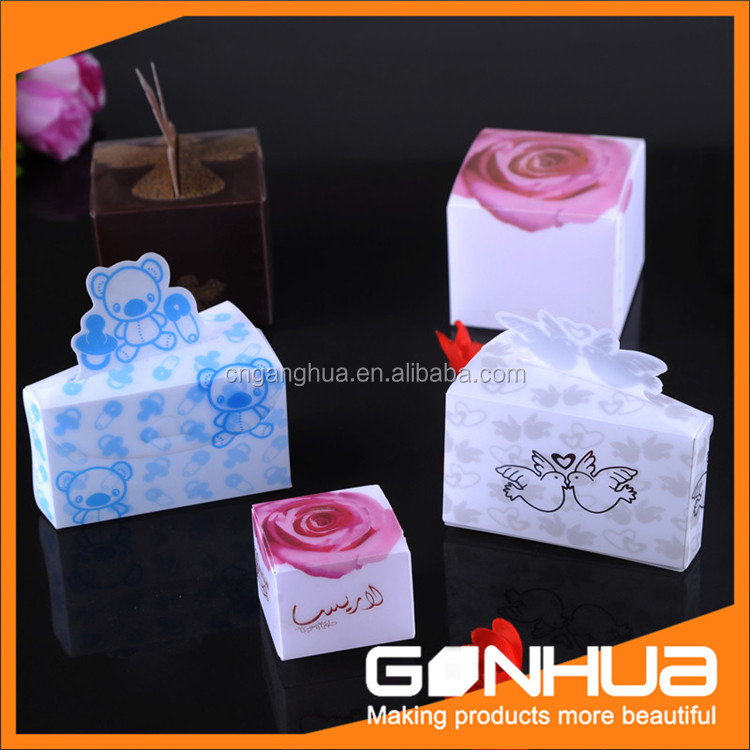 Most popular excellent quality gift packaging box plastic box from manufacturer