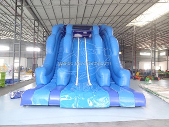 gm5433 Interesting inflatable Water Slide for summer play