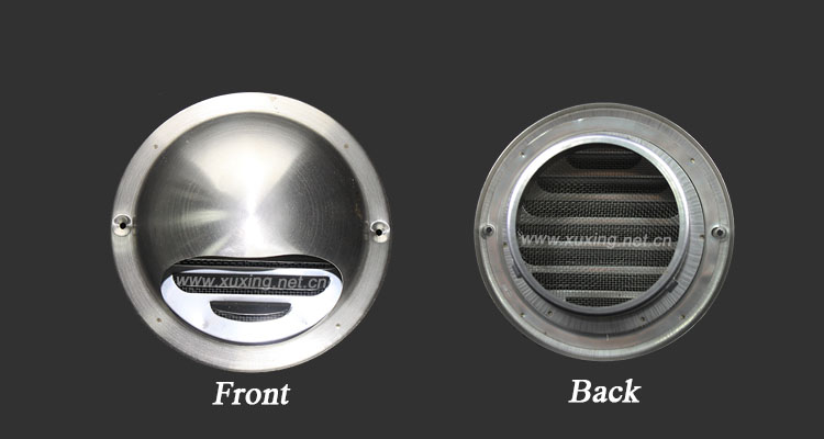 Sus 201 304 Stainless Steel Wall Round Air Vent Valve Cap