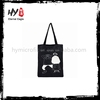 New style popular lady canvas tote bag with low price
