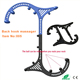 kneading neck and shoulder massager theracane back massage hook