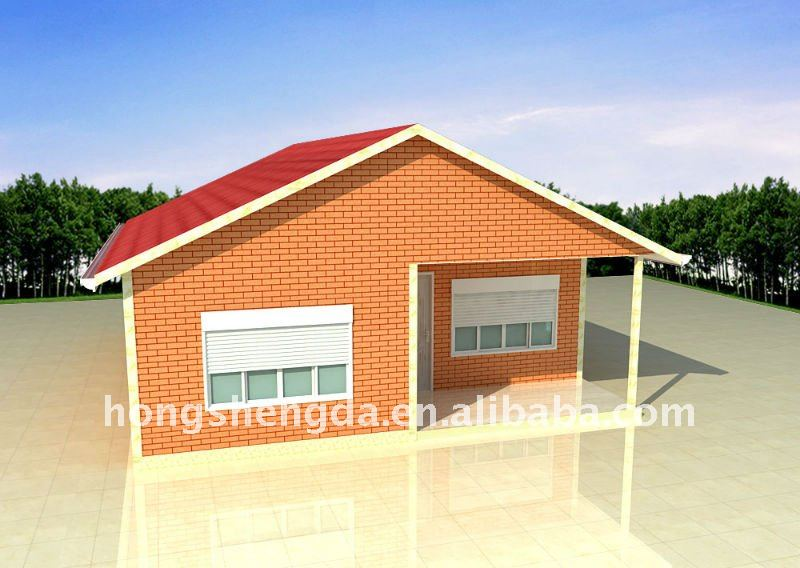 Prefabricated house units
