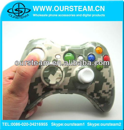 Custom For Xbox 360 Hydro Dipped Controller Shell Mod Kit for xbox 360 made in china