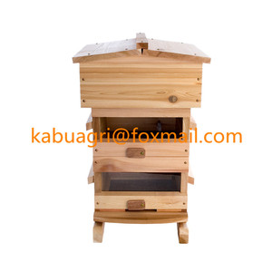 Natural beehive wooden Warre Beehive bee hive supplies