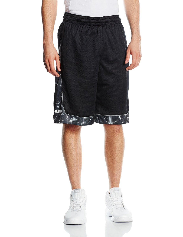 04c0daa5fe1c Buy Nike Mens Lebron Helix Elite Basketball Shorts Teal Navy Blue in ...