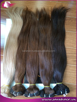 High quality highlight color 8613 silky straight vietnamese high quality highlight color 8613 silky straight vietnamese human hair extension machine weft pmusecretfo Gallery