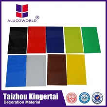 Alucoworld insulated aluminum acp 3mm composite wall decorative panel