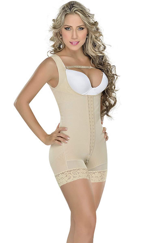 Fajas Colombianas M&D Body Shaper Wide Strap Abdomen Compression Garment