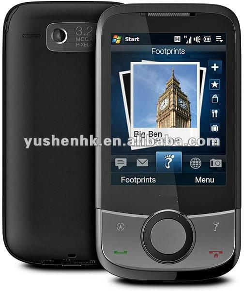 Touch Cruise 09 T4242 3G Windows Mobile 6.5 smart phone GPS WIFI Russo
