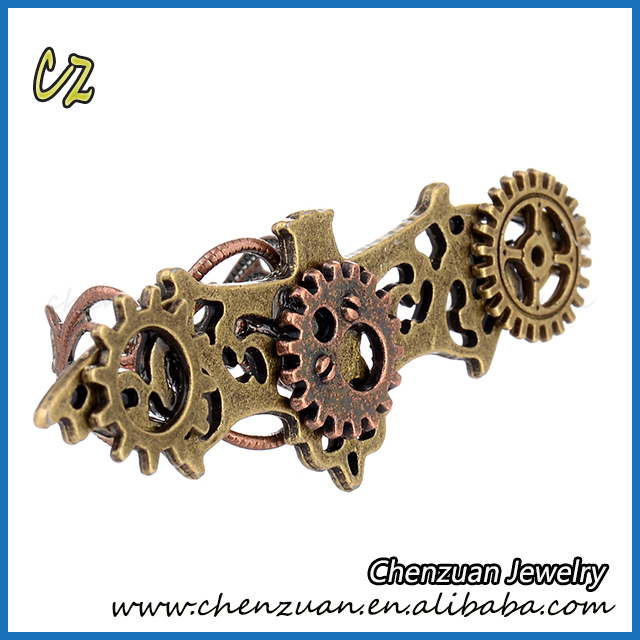 Latest Vintage Steampunk Fashion Adjustable Gear Ring For Men