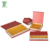 Paper Book Shape Plastic Compartment Inlay Chocolate Packaging Gift Box