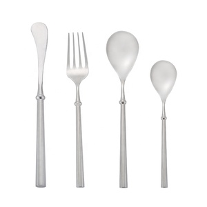 Best high quality 18 10 stainless steel flatware steel cutlery top choice hammered flatware
