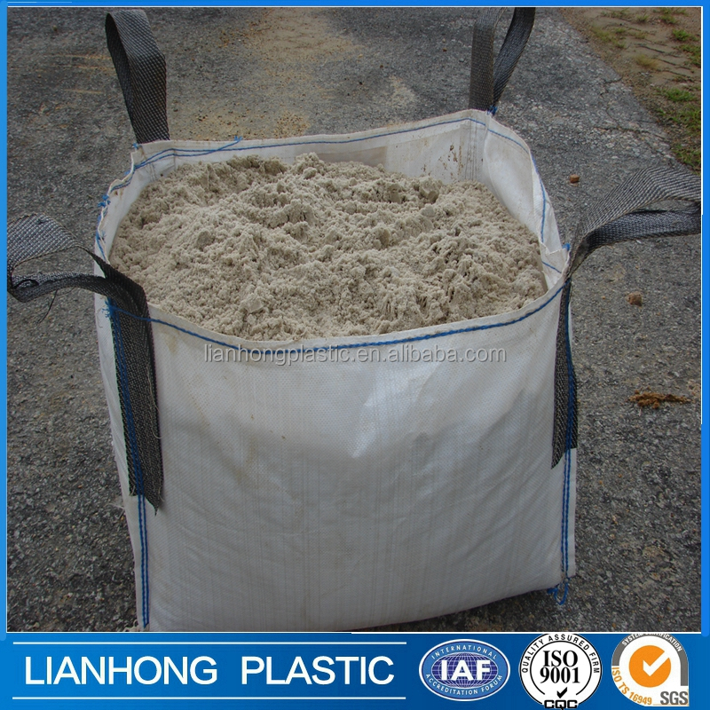China factory sell high quality 5:1 safety Factor 1000kg FIBC big bag, 1500kg pp big bag , FIBC bag