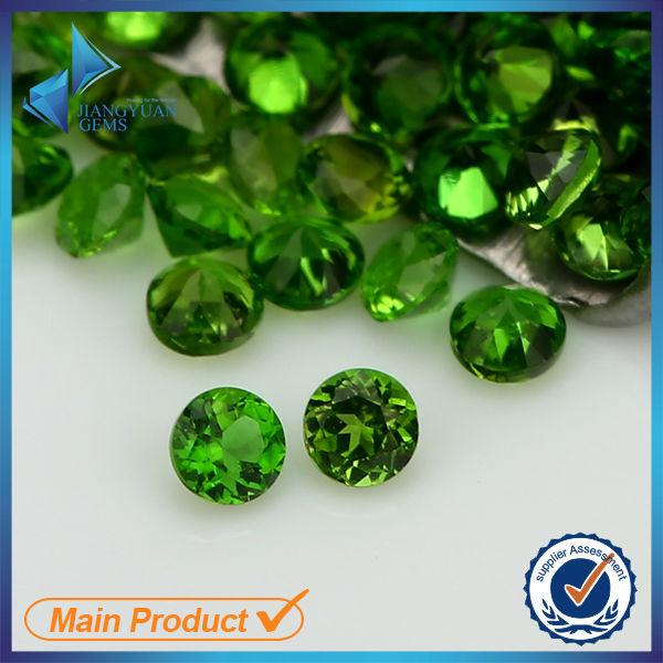popular sale emerald color natural diopside