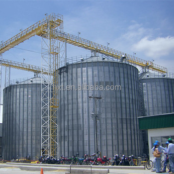 Big capacity sunflower seeds storage silo