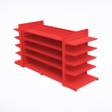 Good quality French customized storage supermarket shelf racks