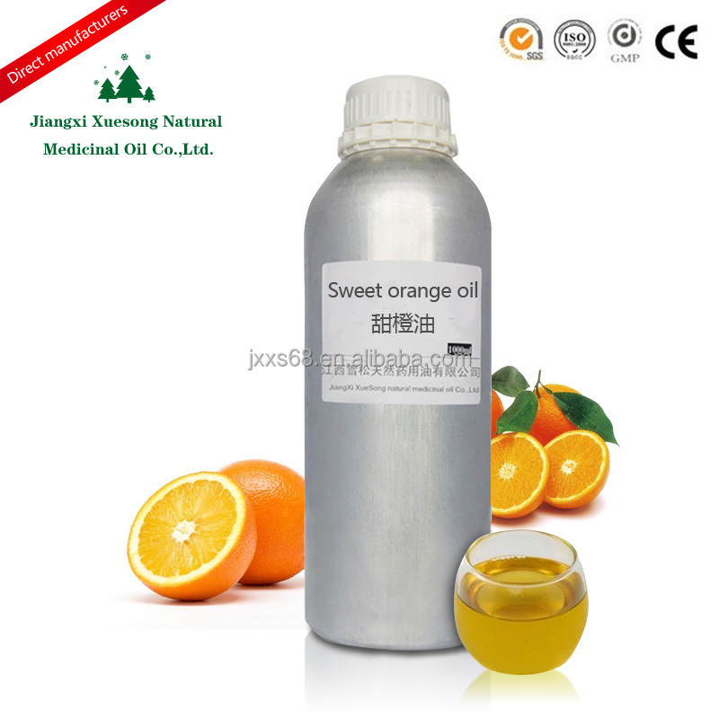 100%pure essential oil of orange , factory wholesale sweet orange seeds