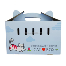 2017 Pet products Cardboard Cat carrier Pet carrier